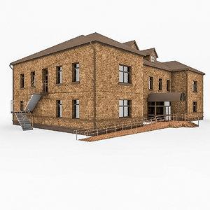 3d 3ds city office building