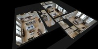 3d model luxury home 1