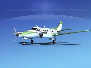 propellers beechcraft c100 king air 3ds