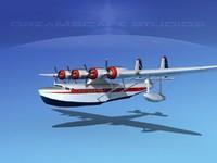 3d radial sikorski seaplanes