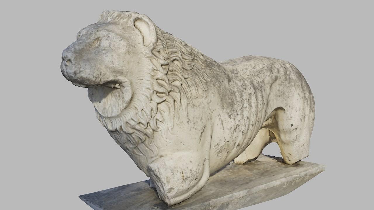 3d model ancient greek