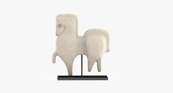 prancing horse 3d 3ds