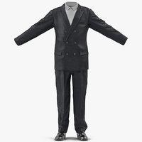 men suit 7 3d model