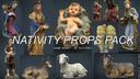 Nativity Set 3D models