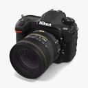 NIkon D500 3D models