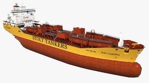3d oil tanker stolt capability