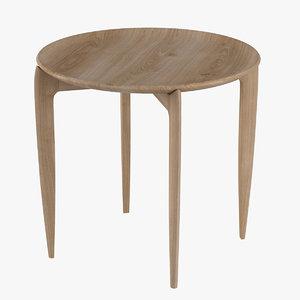 table tray fritz hansen 3d model