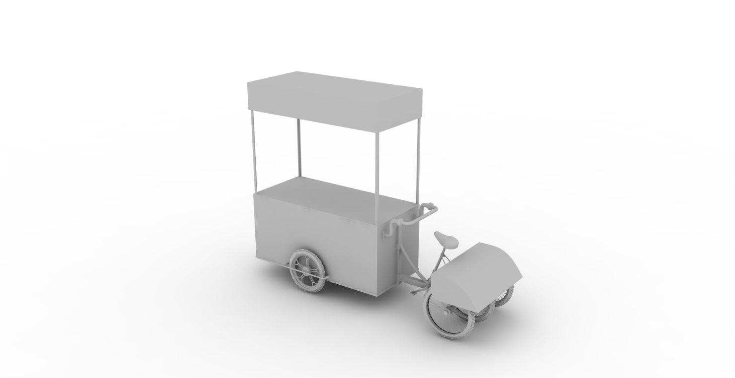 car tasting 3d model
