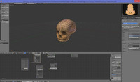 obj child head skull