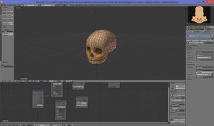 obj child head skull
