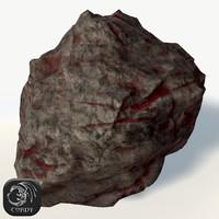 rich asteroid 3d model