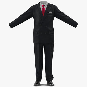 3d corporate suit modeled