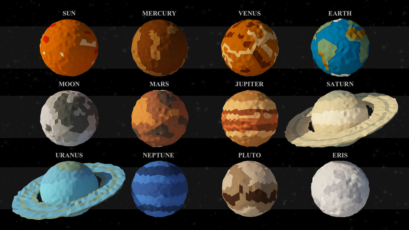 3d model of solar system how to make