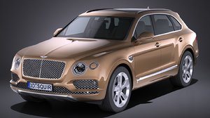 hq bentley bentayga obj