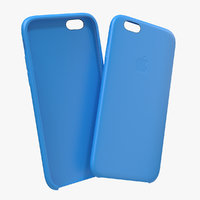 iPhone 6 Silicone Case Blue