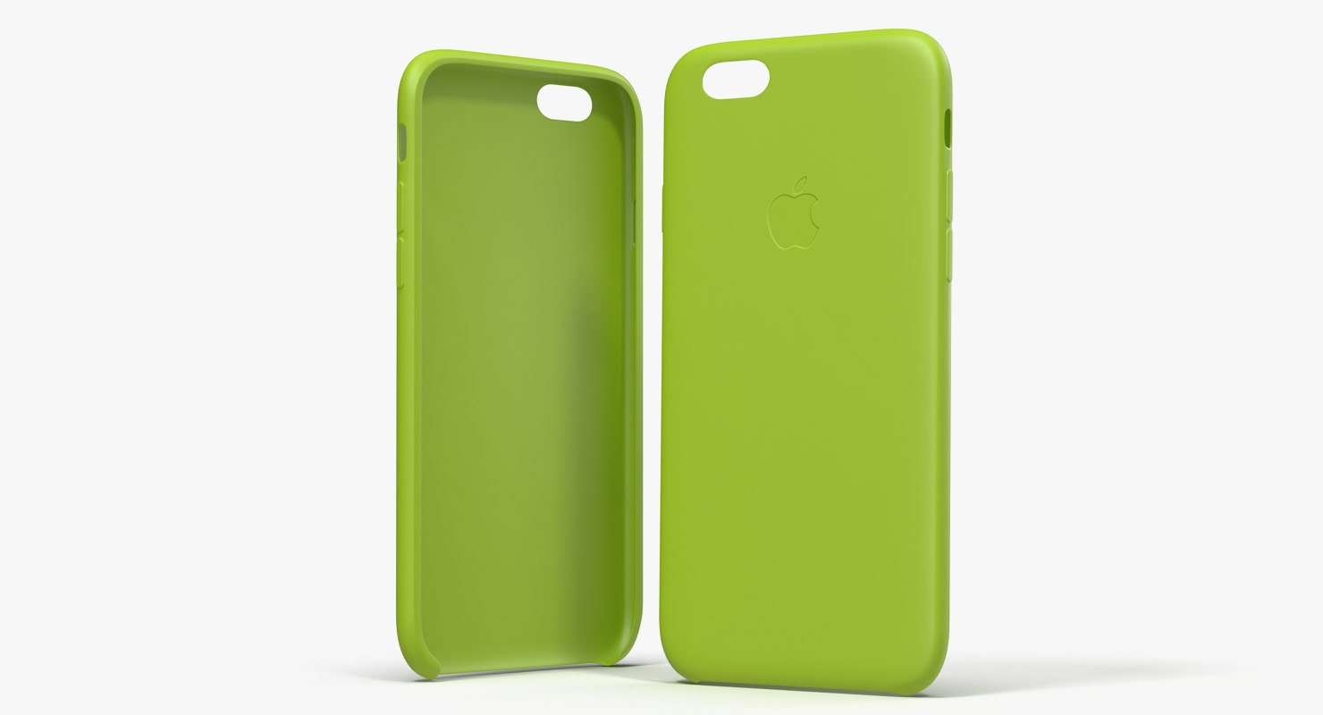iphone 6 silicone case 3d model