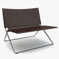3d model of roda berenice lounge