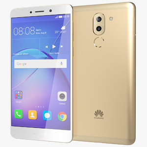 realistic huawei mate 9 3d model