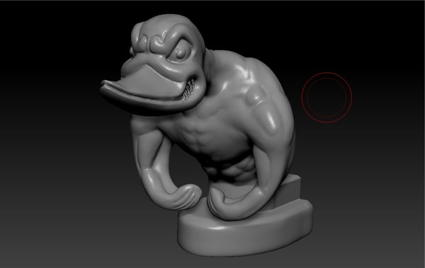 3d model upgraded rubber duck