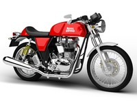 royal enfield continental gt 3d model