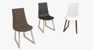 x wood armchair interior