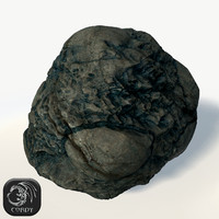 3d asteroid ready games model