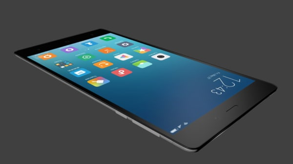 free obj model modern mobile phone