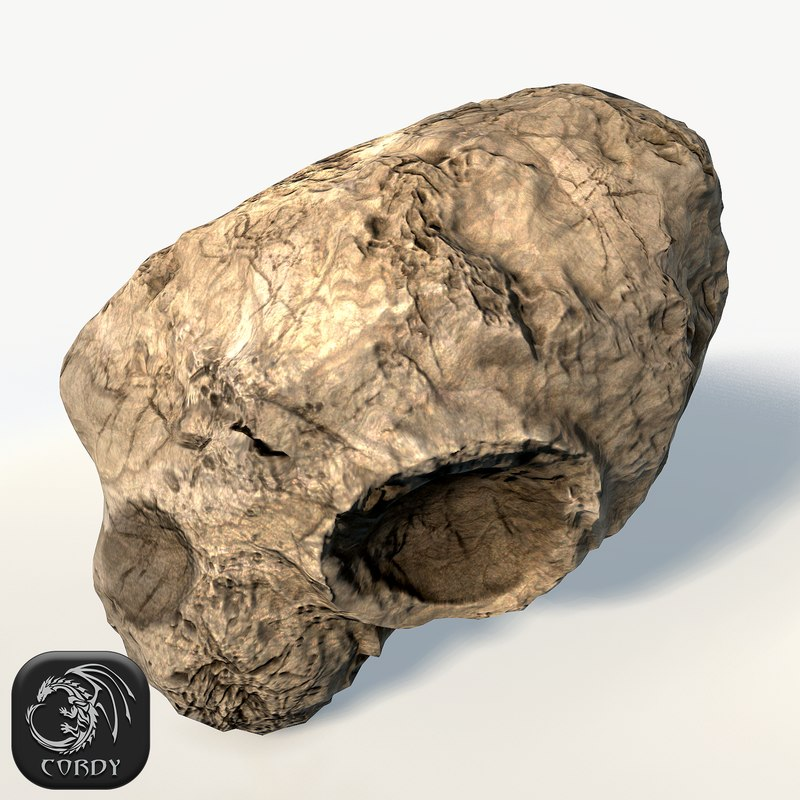 3d model asteroid ready games