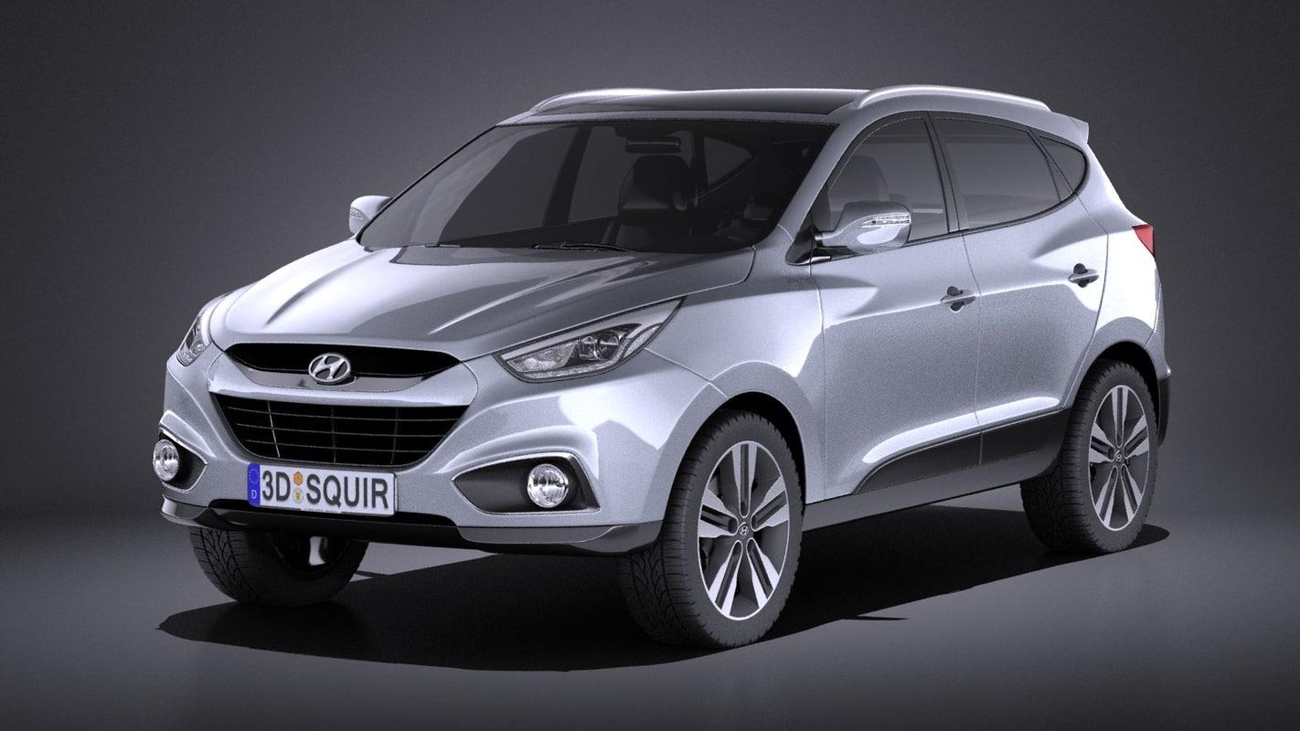 2015 Hyundai Ix35 3d 3ds