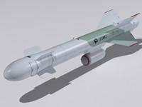 3d kh-59mk2 missile model