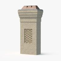chimney 2 3d max