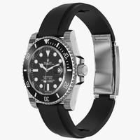 Rolex Submariner Date Oysterflex Strap