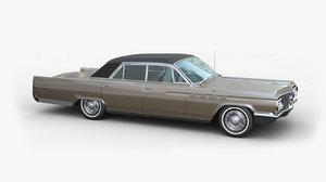 3d 1963 buick electra model
