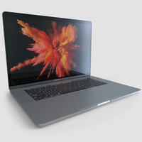 3d apple macbook pro 15 model