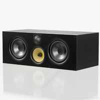 central bowers wilkins black 3d model