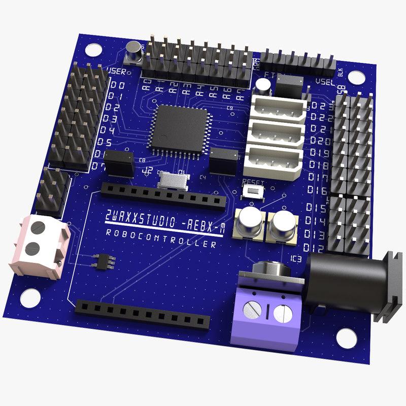 3d robocontroller board