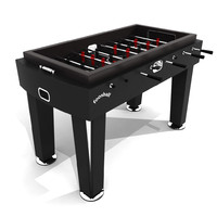 3d model foosball soccer table
