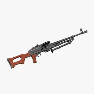 machine gun pkm 3ds