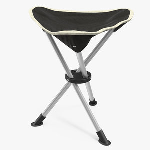 3d telescopic tripod folding chair