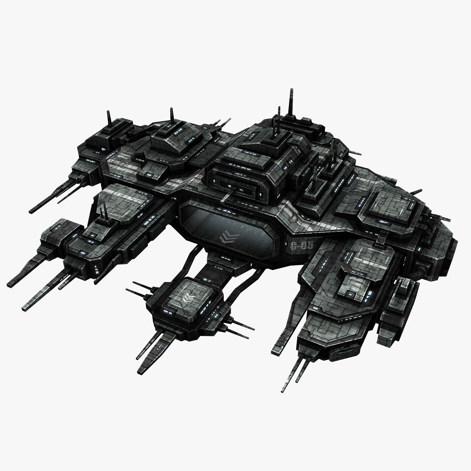 battlestation station 3d model