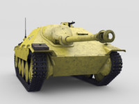 3d model jagdpanzer 38 hetzer