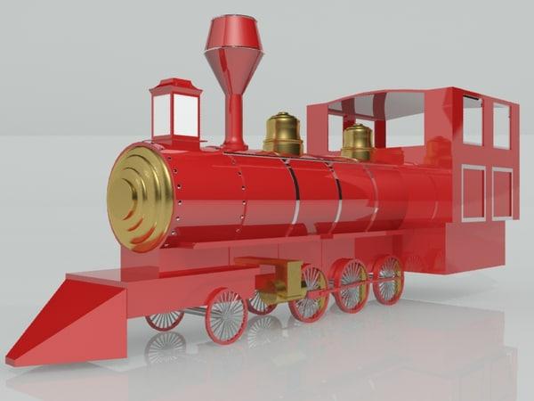 iron train 3d model