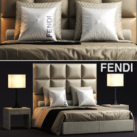 fendi casa diamante 3d model