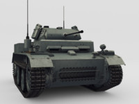 light tank pzkpfw ii 3d max