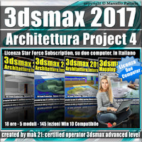 3ds max 2017 Architettura Project 4 Subscription 2 Computer