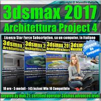 3ds max 2017 Architettura Project 4 Locked Subscription, un Computer.