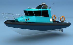 3d model patrol boat