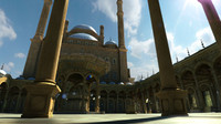 3d max mohamed ali mosque