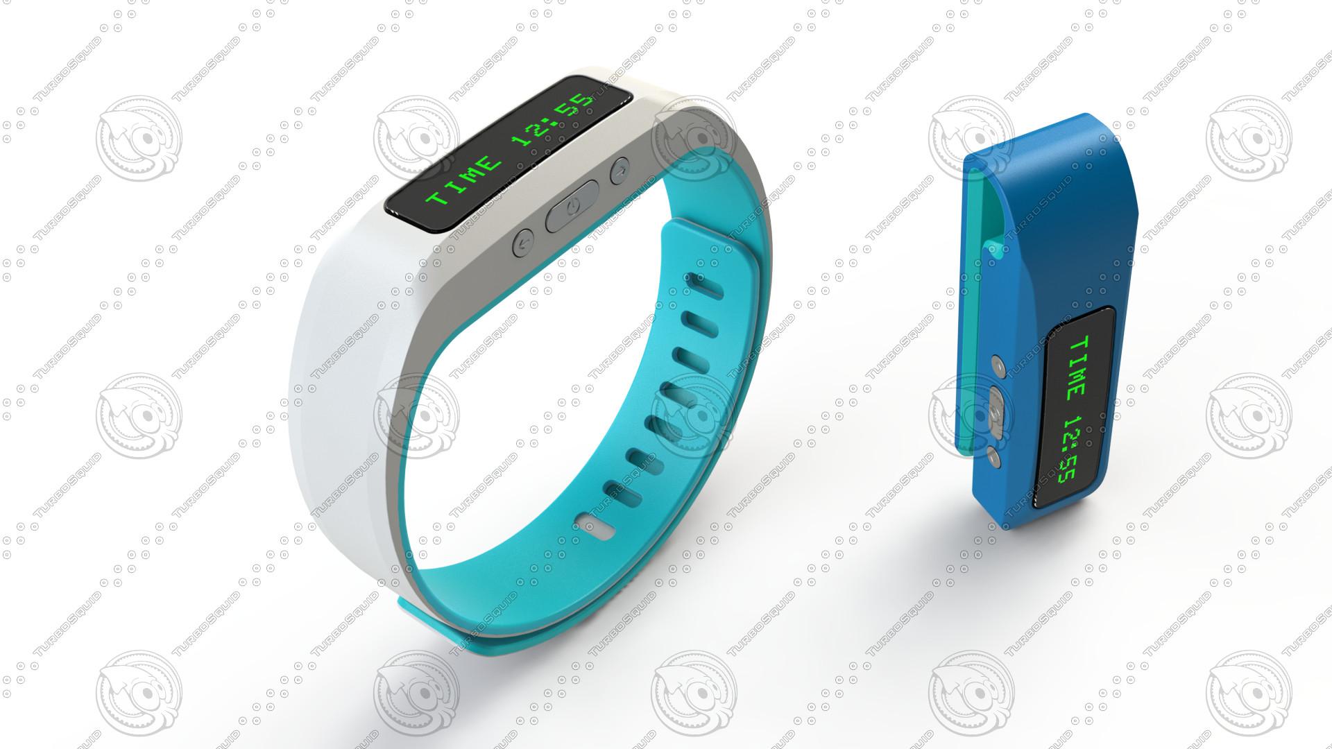 3d model bracelet gadget