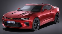 hq chevrolet camaro 3d 3ds